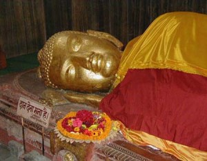 kushinagar sleeping buddha