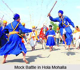 1 Mock Battle in Hola Mohalla