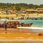 5 Baga Beach in Goa - lot's of beach activites