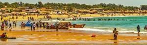 5 Baga Beach in Goa lots of beach activites