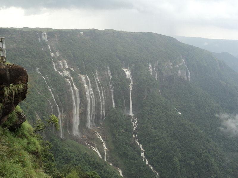 7_Sister_Falls_Cherrapunji