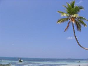 A beach at Kavaratti Lakshadweep