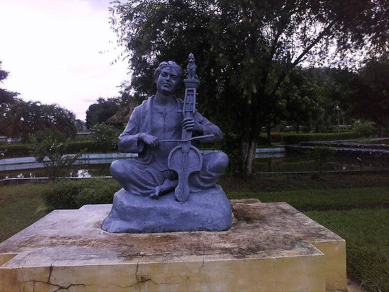 A_sculpture_at_Srimanata_Sankardev_Kalakhetra