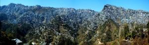 Aizawl Panoramic View