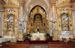 Altars at St. Alex Church Calangute