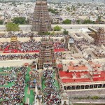 An_aerial_view_of_Madurai_city_from_atop_of_Meenakshi_Amman_temple