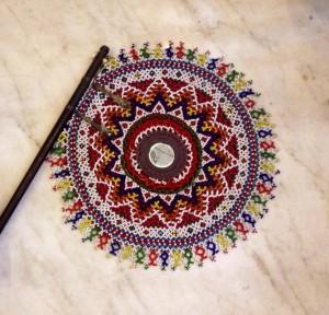 Bandhani Moti Work