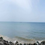 Beach_Promenade_at_Pondicherry_panorama