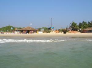 Beach of Colva India