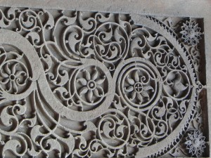 Carving in Sidi Saiyyed Mosque