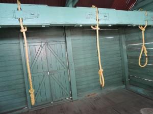 Cellular jails hanging cell