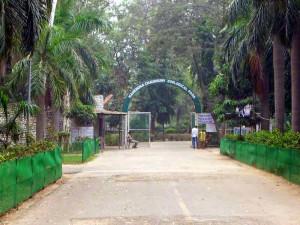 Chattbir zoo entrance