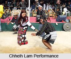 Chheih Lam Folk Dance of Mizoram 51