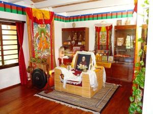 Dalai Lama seat Tibetan Centre in Auroville