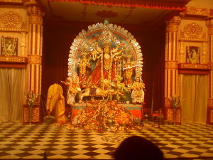 Durga Pooja at Belur Math