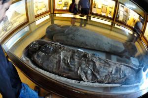 Egyptian Human Mummy   Egyptian Gallery   Indian Museum   Kolkata 2014 02 14 3291
