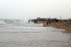 Elliots Beach at Besant Nagar Chennai