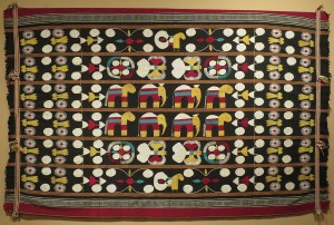Embroidered textile from Nagaland