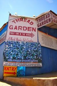Entrance to Thread Garden Ooty India