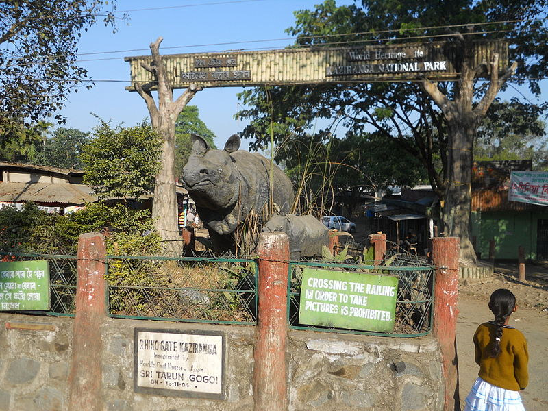 Entrance_Kaziranga