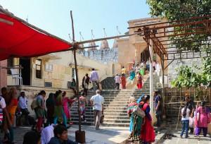 Entrance to Palitana temples
