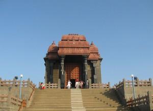 Entrance view Vivekananda rock temple
