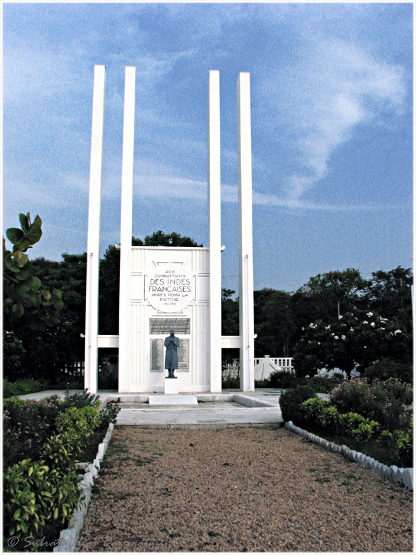 FrenchWarMemorial_inPuducherry