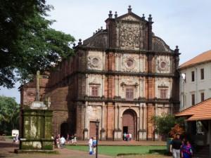 Goa Velha Basilica Bom Jesus