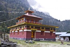 Hinang Gompa Manaslu Trek GHTDP Samir Thapa