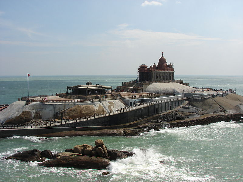 Kalyakumari_rock_temple