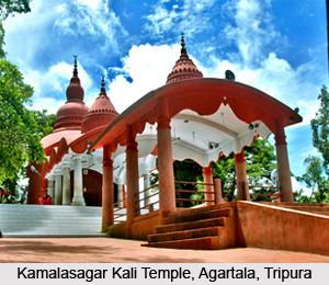 Kamalasagar Kali Temple  Agartala  Tripura 1