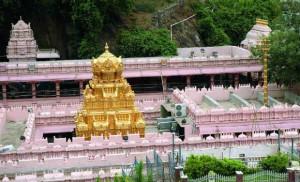 Kanakadurga temple in Vijayawada.