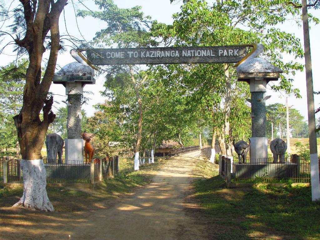 Kaziranga_gate