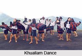 Khuallam Dance Folk Dance of Mizoram
