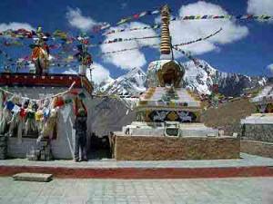 Kunzum Pass between Lahaul  Spiti