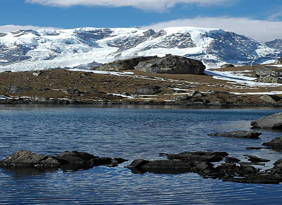 Lake in North Sikkim