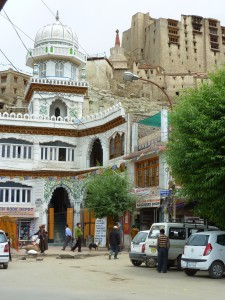 Leh mosque and palace