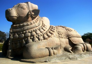 Lepakshi Stone Nandi