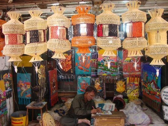 Aizawl City in Mizoram
