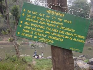 MNP Beware of crocodile