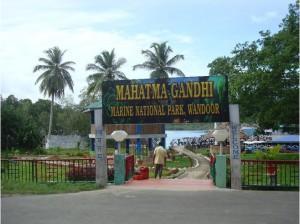 Mahatma Gandhi Marine National Park Port Blair