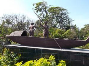 MarinaBeach FishermenStatue