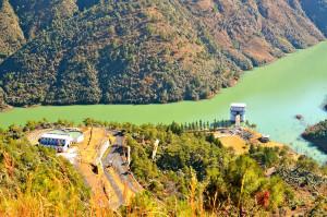 Mawphlang Dam Reservoir Meghalaya India