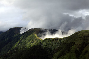 Meghalaya Abode of the Clouds India Nature in Laitmawsiang Landscape