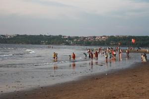Miramar beach goa blue