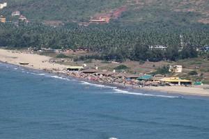Morjhim Beach Goa