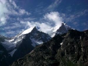 Mountain peaks Lahul