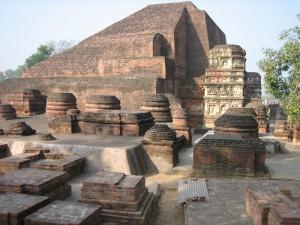 Nalanda University India ruins