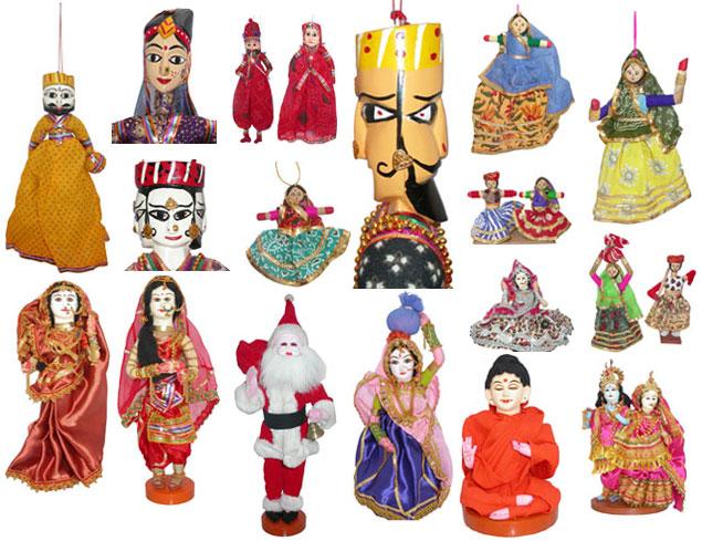 Paper-Mache-Dolls