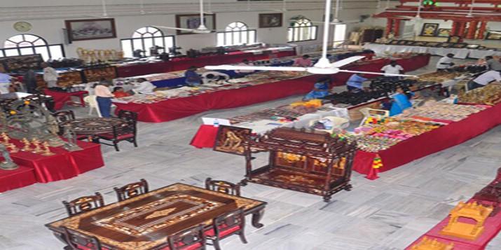 Poompuhar Crafts mela exhibition